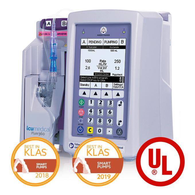 Plum 360 - ICU Medical